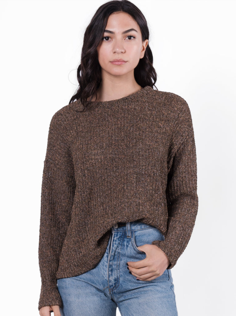 Laurel Twist Back Sweater