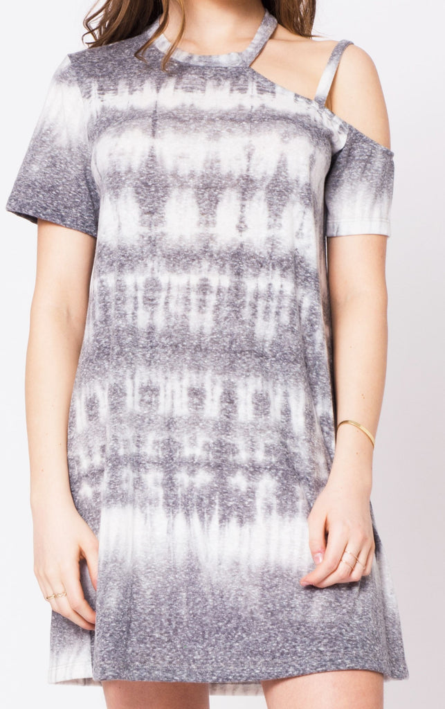 Bali Tri Blend Tie-Dye T-Shirt Dress