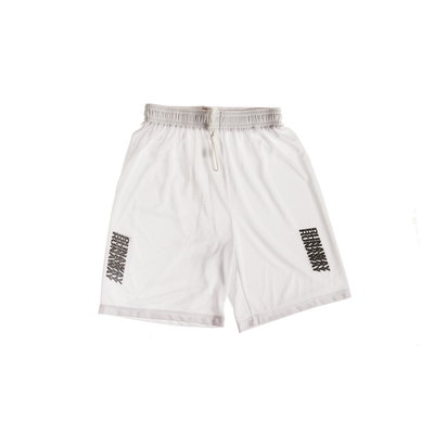 Athletic Shorts (White)