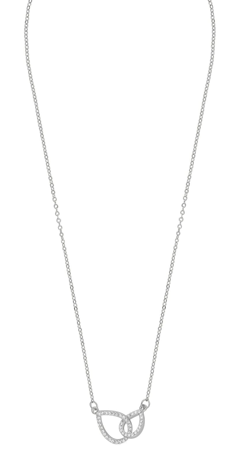 Snö of Sweden Halsband Ciel chain neck 42 s/clear