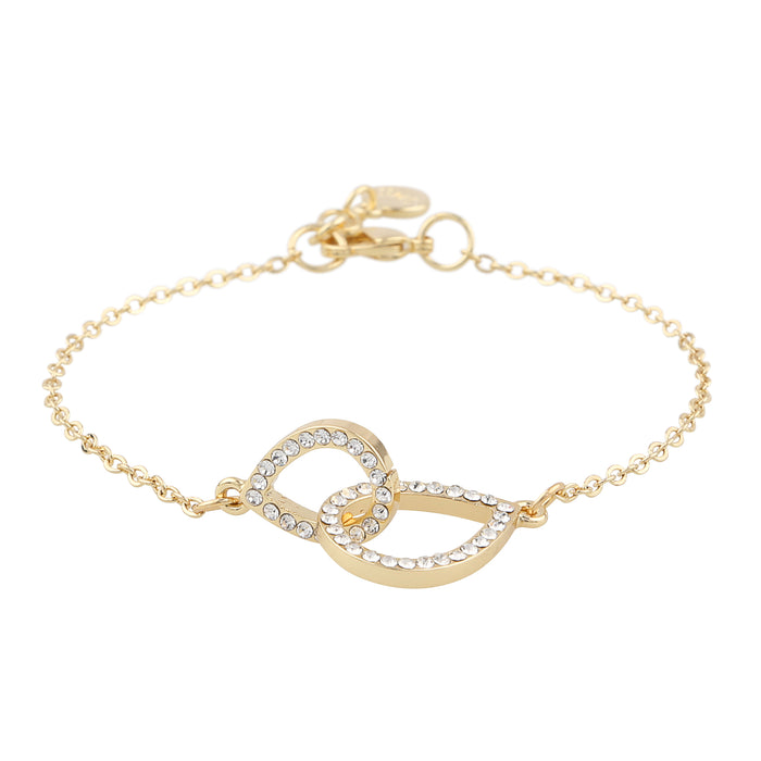 Snö of Sweden Armband Ciel chain brace  g/clear