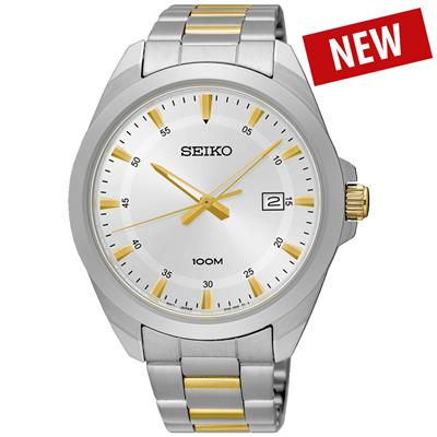 Seiko men 42mm 100m