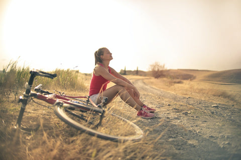 Exercising can help distract worries