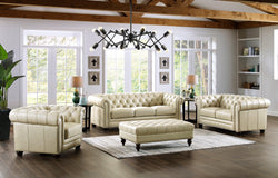 Allington Top Grain Leather Sofa Set