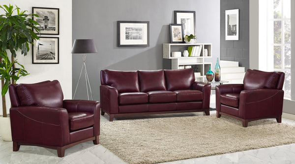 Astonishing Campania Top Grain Leather Recliner Sofa Set Prospera Home Gmtry Best Dining Table And Chair Ideas Images Gmtryco