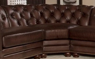Allington Top Grain Leather Sectional
