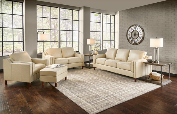Dobson Top Grain Leather Sofa Set