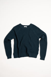 Salka Teal — Merino Wool Sweater
