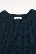 Load image into Gallery viewer, Salka Teal — Merino Wool Sweater