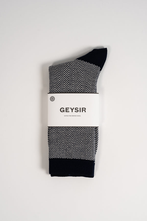 Load image into Gallery viewer, Spói Merino Socks  —  Navy