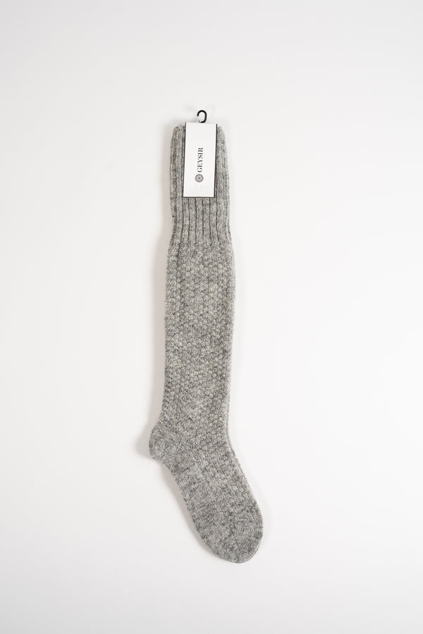 Load image into Gallery viewer, Pearl Knit — Long Wool Socks