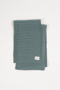 Fold Scarf —  Cambridge Blue