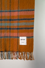 Load image into Gallery viewer, Hlíð Icelandic Wool Blanket — Ochre