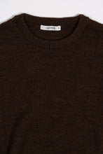 Load image into Gallery viewer, Ernir Merino Sweater — Dark Brown