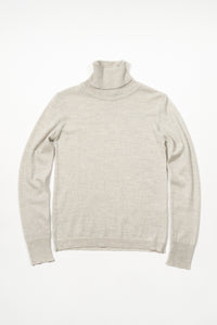 Eir Merino Wool Top — Silver Grey