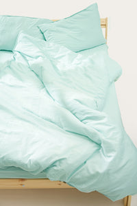 Nótt Duvet Cover — Bright Blue