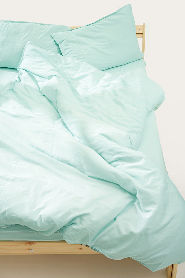 Load image into Gallery viewer, Nótt Duvet Cover — Bright Blue