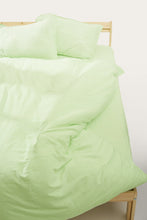 Load image into Gallery viewer, Nótt Duvet Cover — Pistachio