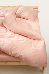Nótt Duvet Cover — Light Pink