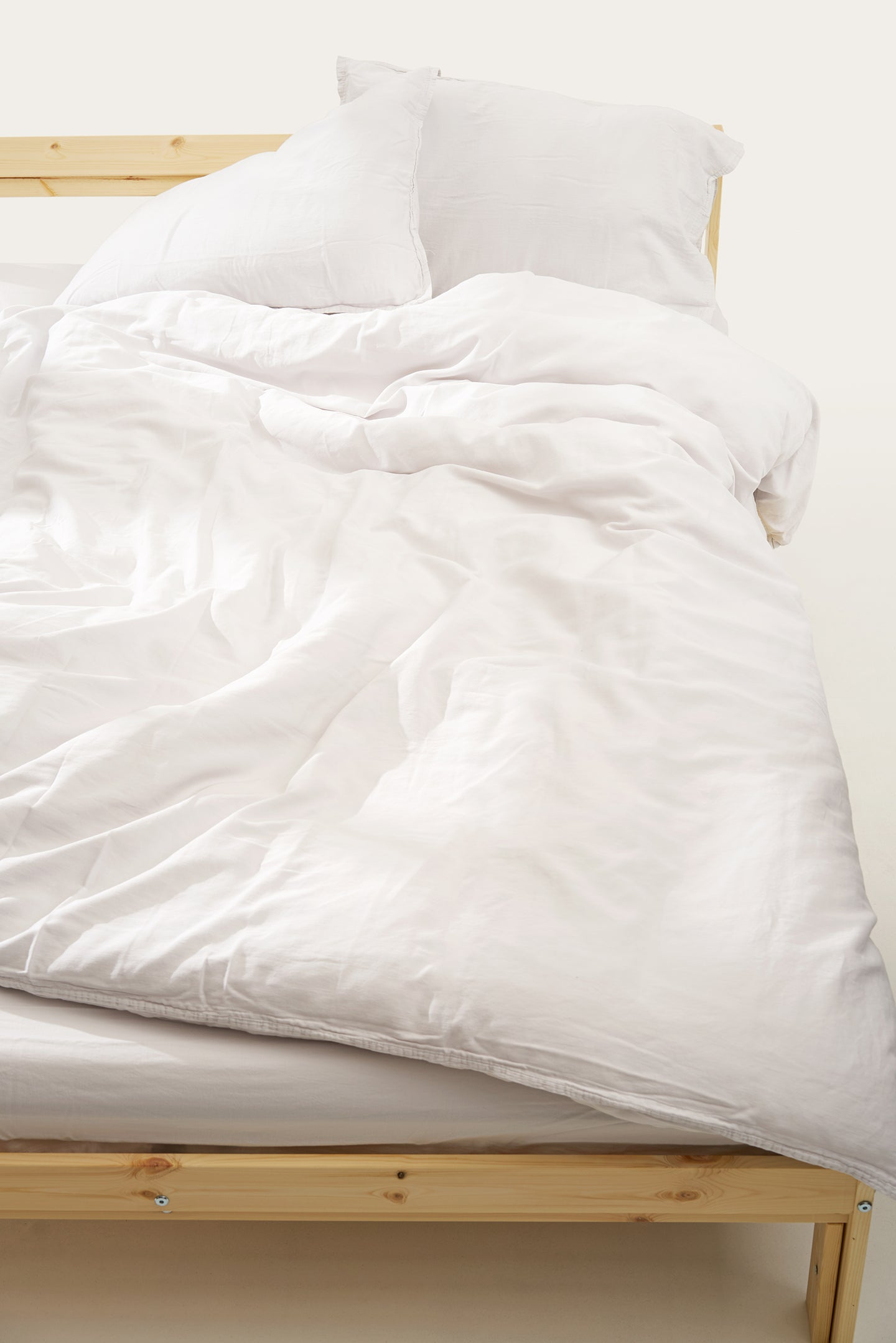 Nótt Fitted Sheet — Soft White