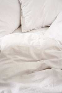 Nótt Fitted Sheet - Soft White
