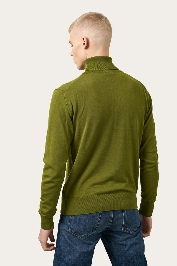 Load image into Gallery viewer, Ari Merino Sweater — Olive