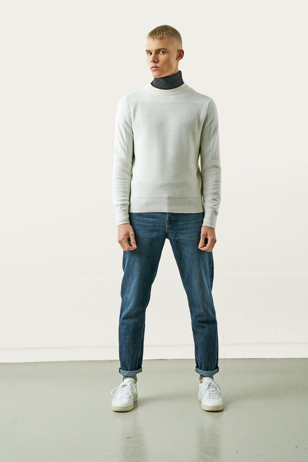 Load image into Gallery viewer, Birkir Sweater — White