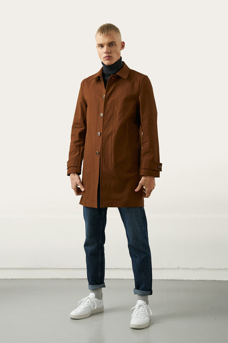 Tryggvi brown — Mac Coat
