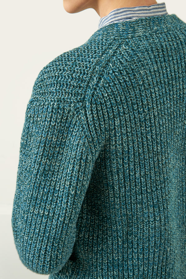 Load image into Gallery viewer, Tjaldur Cardigan — Teal