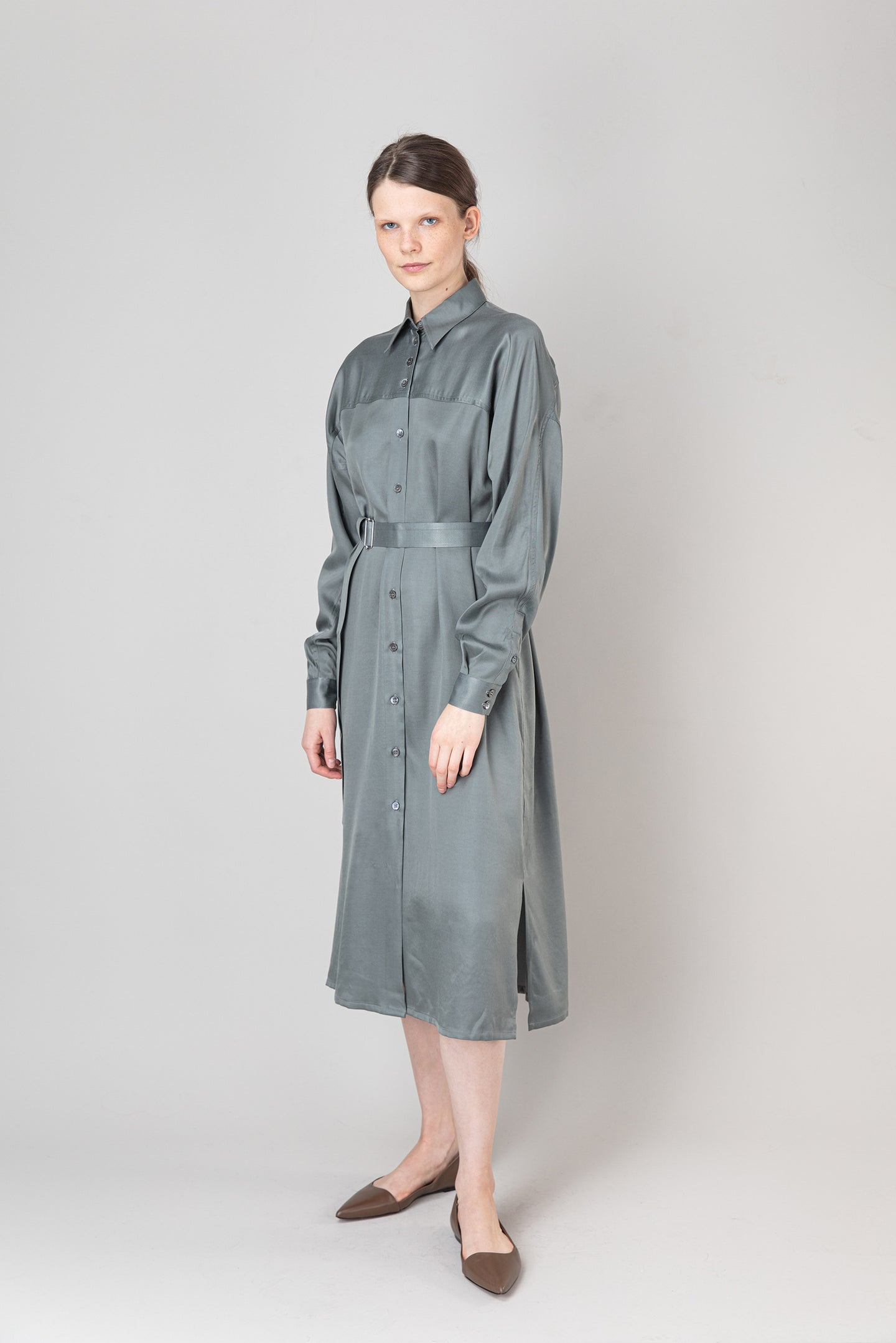 Steinunn Dress — Castor Grey