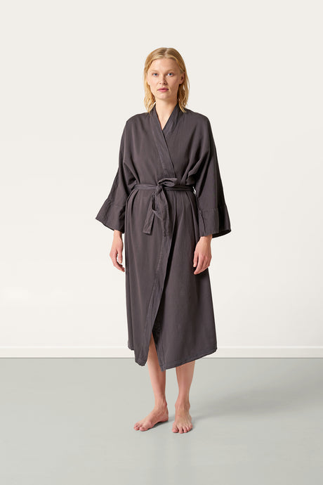 Nótt Bathrobe — Dark Stone