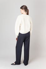 Load image into Gallery viewer, Brák — White Knit Cardigan