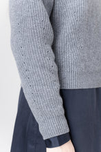 Load image into Gallery viewer, Brák — Grey Knit Sweater