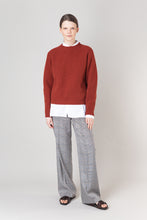 Load image into Gallery viewer, Brák — Rust Knit Sweater