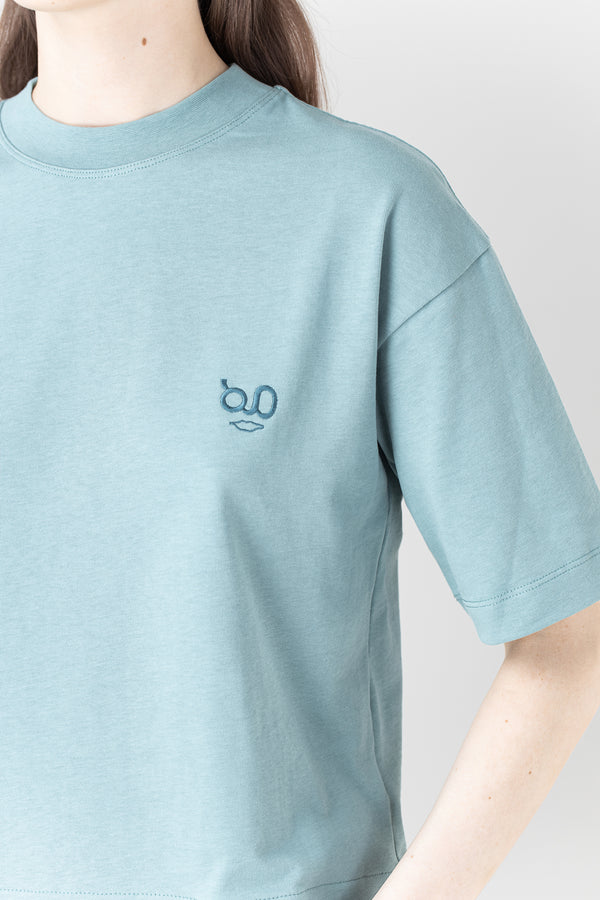 Load image into Gallery viewer, Edda — Blue T-shirt