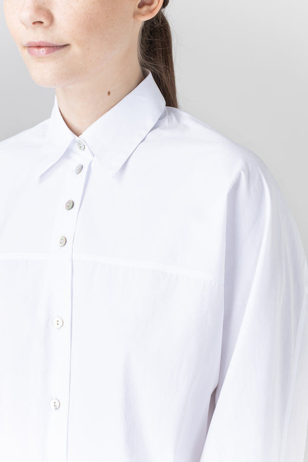 Load image into Gallery viewer, Fanney Shirt — White Poplin