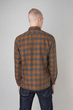 Load image into Gallery viewer, Auðunn Shirt — Ochre Check