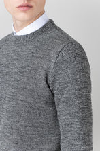 Load image into Gallery viewer, Ernir Wool Sweater - Black & White
