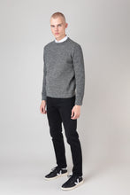 Load image into Gallery viewer, Ernir Wool Sweater — Black & White