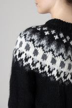 Load image into Gallery viewer, Hrefna Wool Sweater — Black