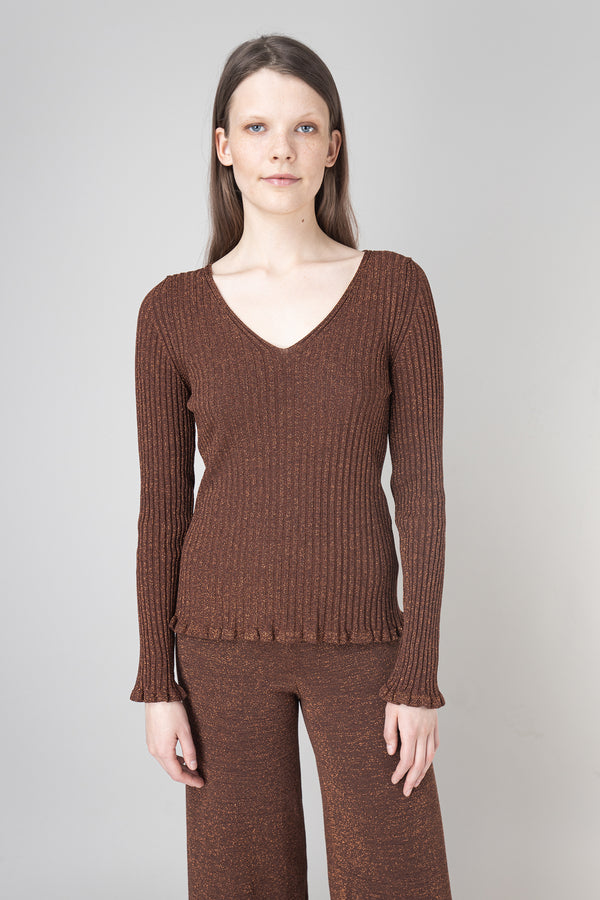 Load image into Gallery viewer, Rán — Ribb Knit Top