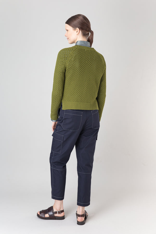 Load image into Gallery viewer, Salka Merino Sweater — Olive