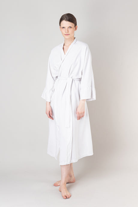 Nótt Bathrobe — Soft White
