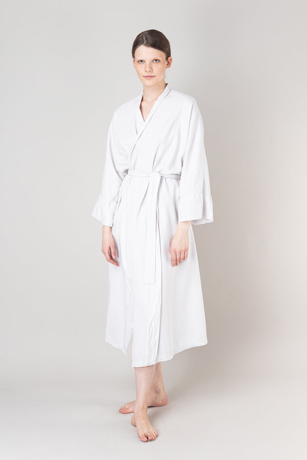 Load image into Gallery viewer, Nótt Bathrobe — Soft White