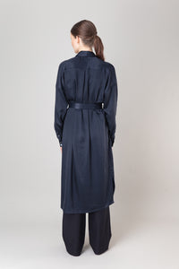 Steinunn Dress — Ink Blue
