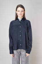 Load image into Gallery viewer, Steinunn  Shirt — Ink blue