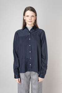 Steinunn  Shirt — Ink blue
