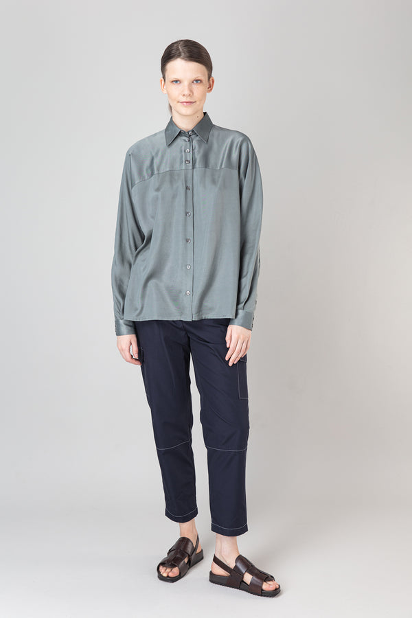 Load image into Gallery viewer, Steinunn Shirt — Castor Grey