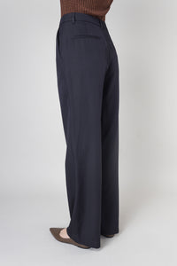 Ylfa Trousers — Dark Navy