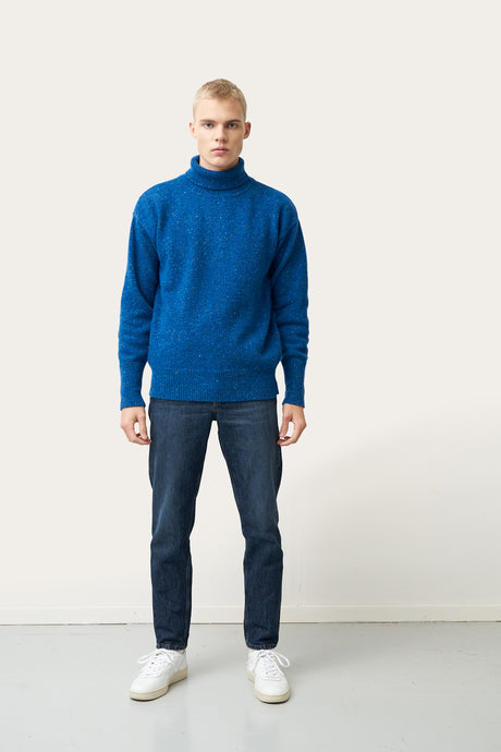 Arnar — Blue Knitted Sweater
